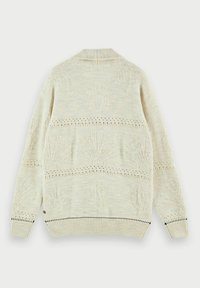 Scotch & Soda - JACQUARD  - Cardigan - sand melange - 6