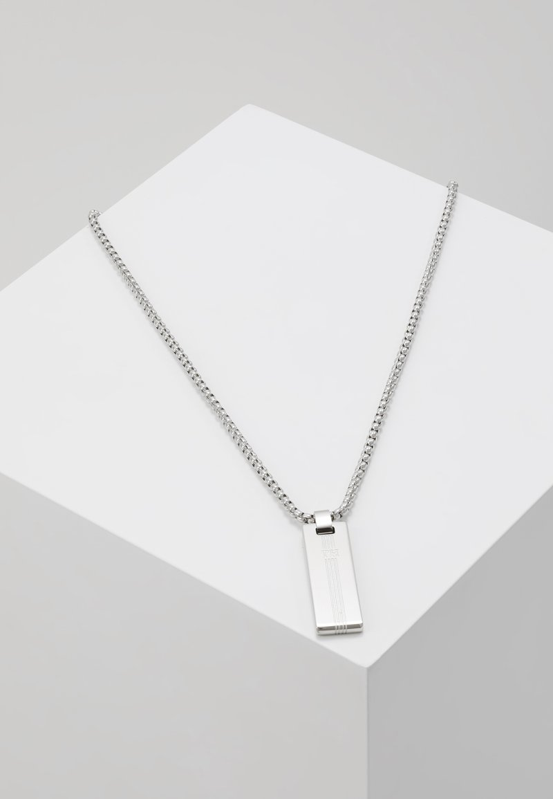 Tommy Hilfiger - NECKLACE - Necklace - silver-coloured