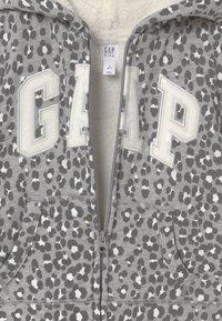 GAP - GIRL LOGO COZY - Mikina na zip - grey - 3