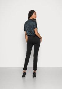 Opus - ELOTTI - Leggings - Trousers - black - 2