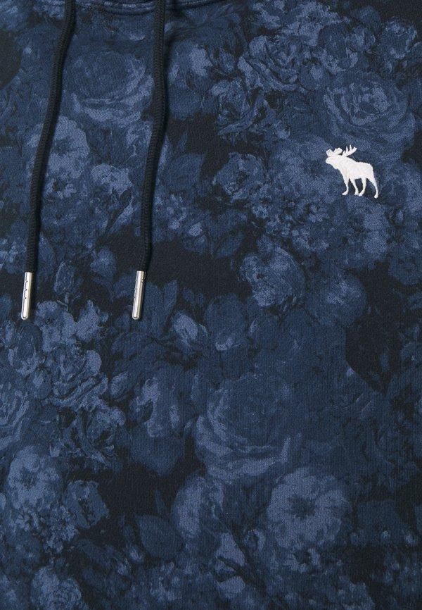 Abercrombie & Fitch ICON - Bluza z kapturem - blue/granatowy Odzież Męska ITMX