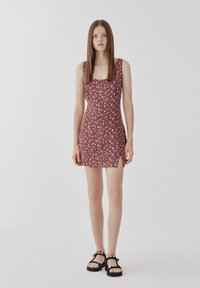 PULL&BEAR - Day dress - dark red - 1