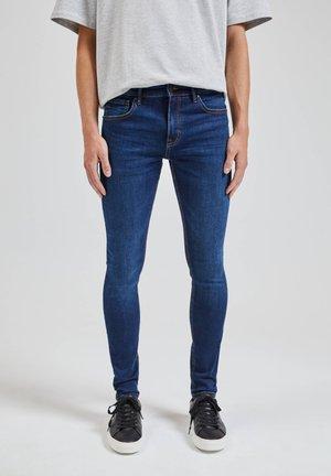 BASIC - Skinny džíny - dark blue
