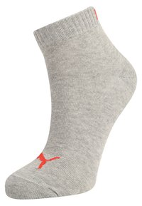 Puma - QUARTER 6 PACK - Sports socks - black/red - 1