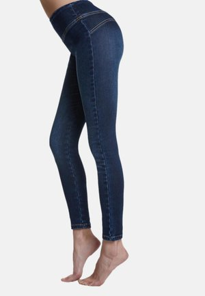 Leggings - Stockings - blu jeans
