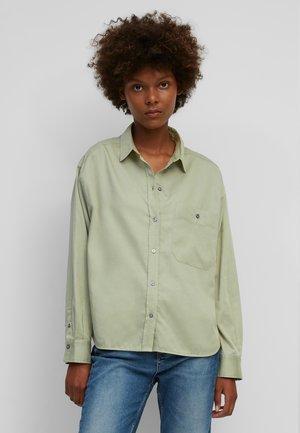 AUS ORGANIC  - Button-down blouse - washed spearmint