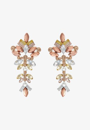 PCCHANDELIER EARRINGS - Pendientes - silver-coloured