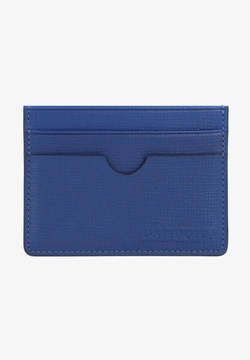 DAVIDOFF - Business card holder - blue