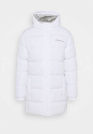 LONG PUFFER PARKA - Wintermantel - white