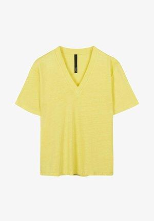 T-shirt basic - lemon