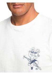 Quiksilver - T-shirt print - snow white - 3