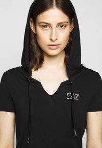 EA7 Emporio Armani - DRESS - Jerseykjole - black - 3