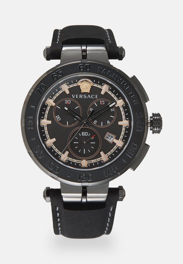 GRECA - Chronograph watch - black