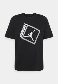 Jordan - JUMPMAN BOX CREW - T-shirt con stampa - black/white - 0