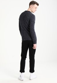 Superdry - SCARFELL CREW - Jumper - mottled anthracite - 2