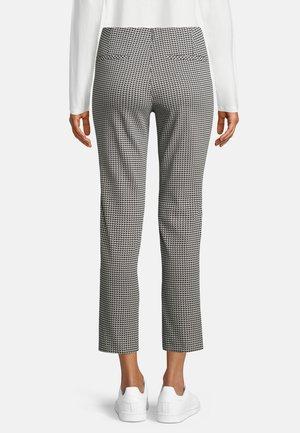 Trousers - dunkelblau weiß