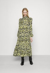 Never Fully Dressed - LEAF PANEL DRESS - Paitamekko - green - 0