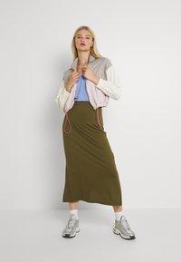 Even&Odd - Maxi skirt - khaki - 1