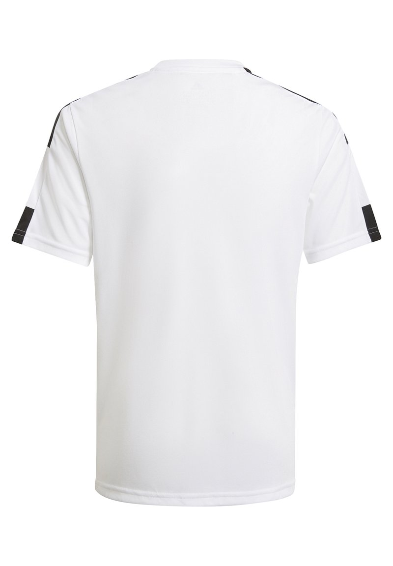 adidas Performance - SQUAD UNISEX - Print T-shirt - white/black