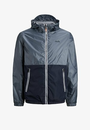 JJHUNTER LIGHT HOOD - Light jacket - ombre blue