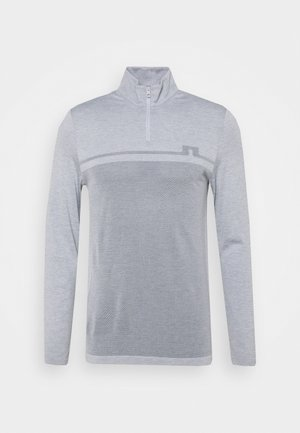 JOEY SEAMLESS - Jumper - stone grey melange