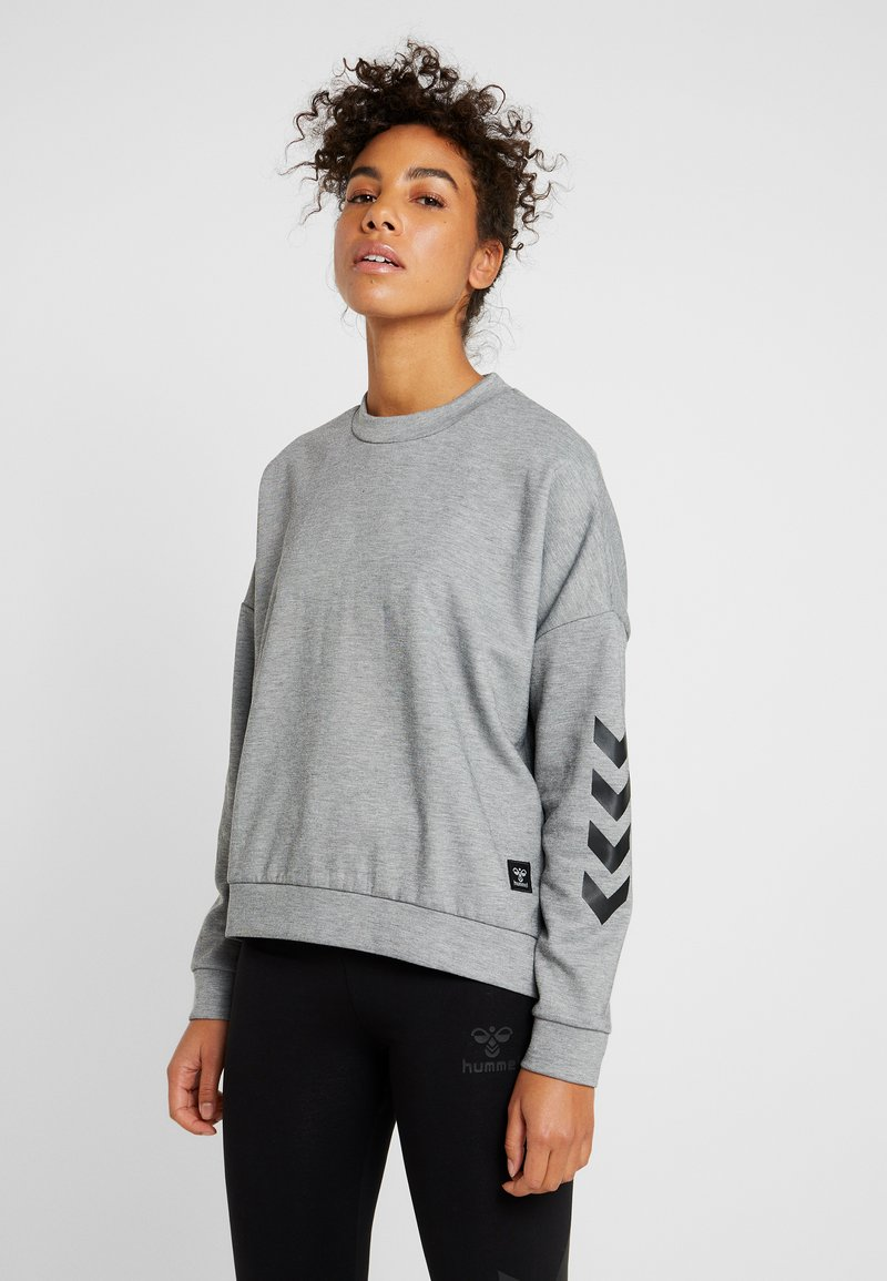Hummel - HMLESSI  - Sweater - grey melange