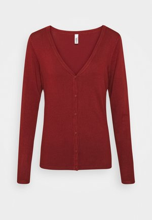DOLLIE - Cardigan - brick melange