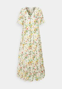 Object - OBJLORENA LONG DRESS - Maxi dress - sandshell/alba - 3