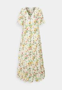 OBJLORENA LONG DRESS - Vestito lungo - sandshell/alba