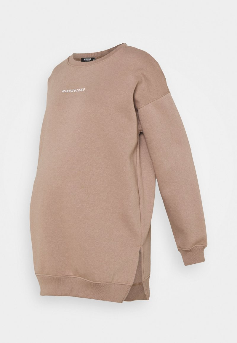 Missguided Maternity - Mikina - brown