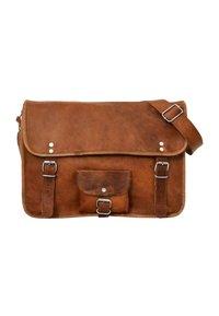 Gusti Leder - Across body bag - brown - 6