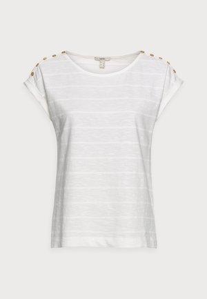 TEE - Jednoduché triko - off white