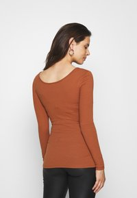 Pieces Maternity - PCMKITTE - Long sleeved top - mocha bisque - 2