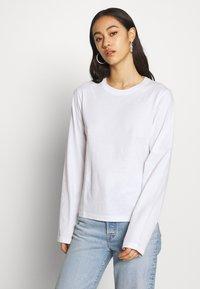 Weekday - ALANIS 2 PACK - Long sleeved top - black/white - 4