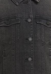 Vero Moda Curve - VMFAITH JACKET - Denim jacket - black - 2