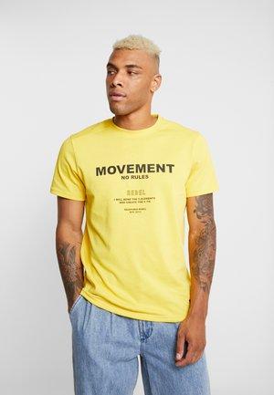 SETH TEE - T-shirt med print - solar power