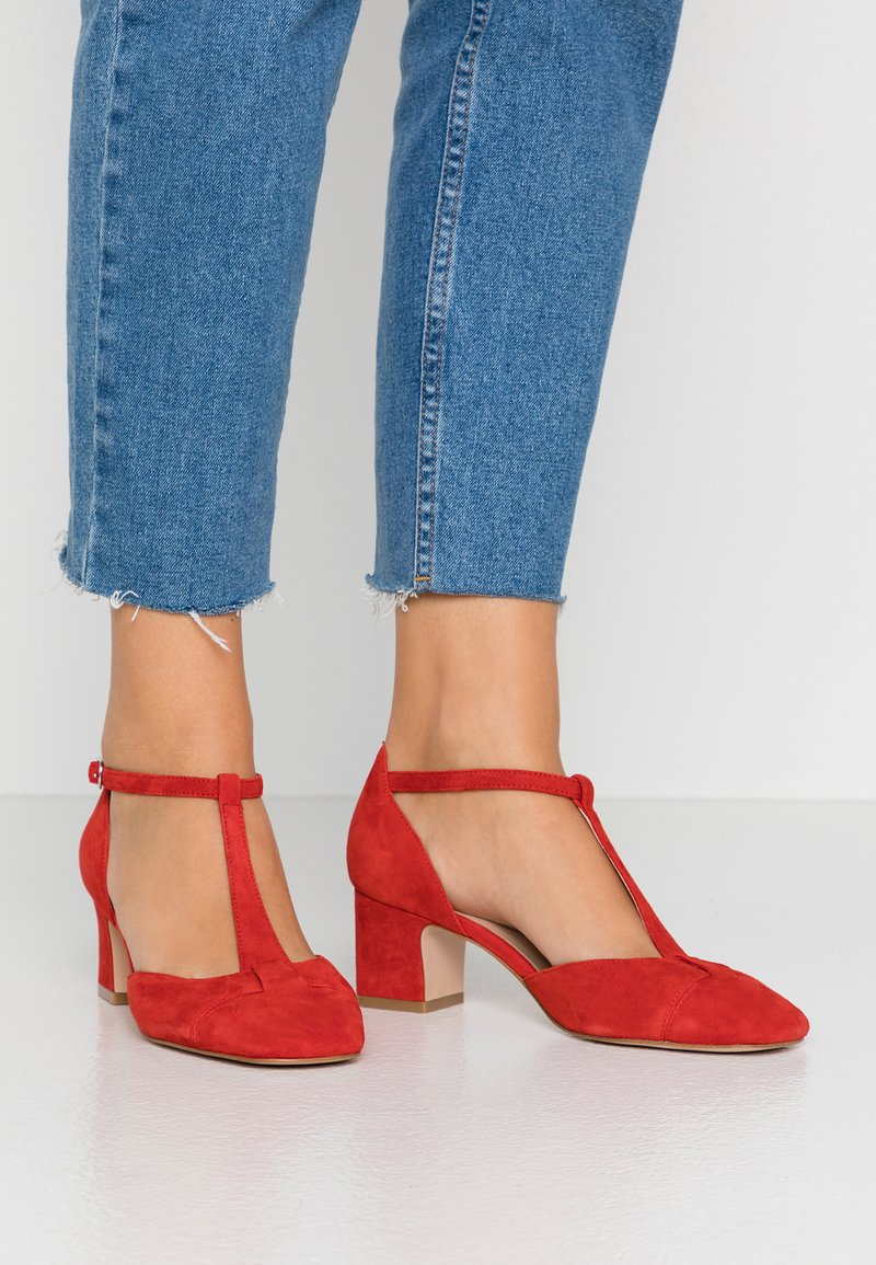 Anna Field - LEATHER PUMPS - Classic heels - red