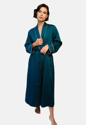Dressing gown - emerald