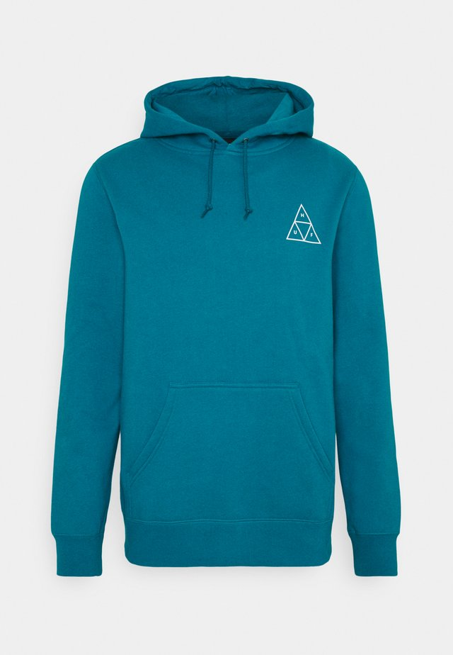 ESSENTIALS HOODIE - Mikina s kapucí - bold teal
