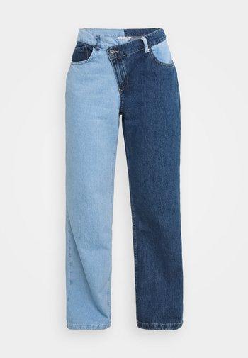 FOLK - Straight leg -farkut - mix blue
