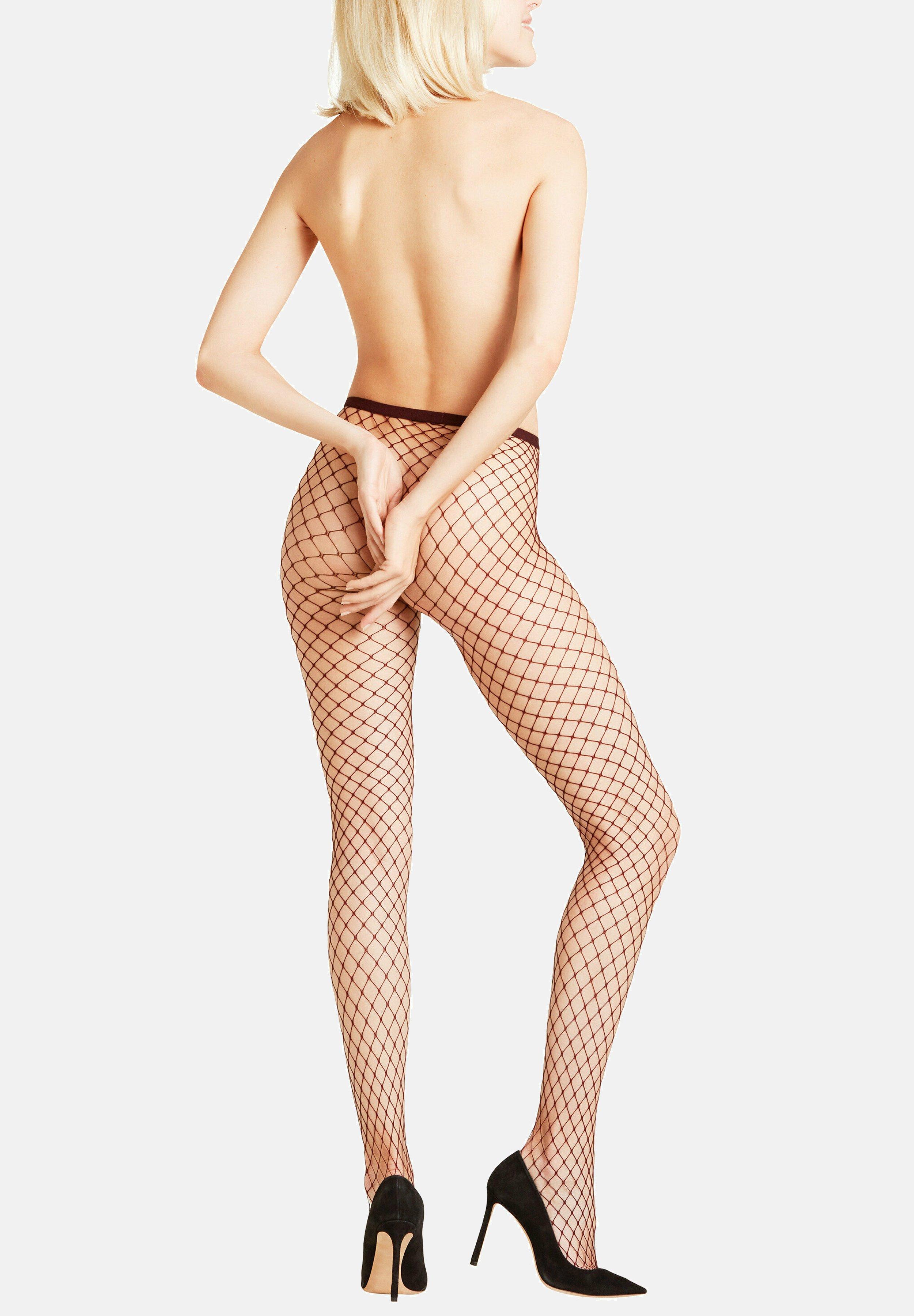 Femme CLASSIC NET - Collants - barolo