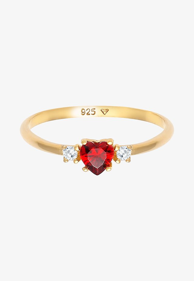 HEART - Ring - gold