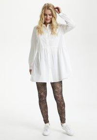 Cream - Button-down blouse - snow white - 1