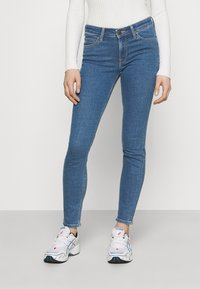 Lee - SCARLETT - Jeans Skinny Fit - clean oregon - 0