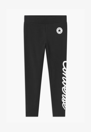 SIGNATURE CHUCK - Legginsy - black