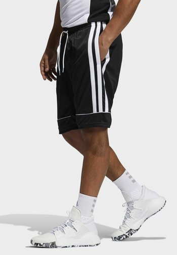 ALL WORLD BASKETBALL PRO AEROREADY PRIMEGREEN SHORTS - Urheilushortsit - black/white