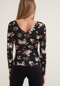 Tezenis - Long sleeved top - nero st.romantic flowers - 1