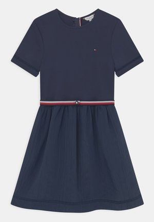 COMBI DRESS - Jersey dress - twilight navy