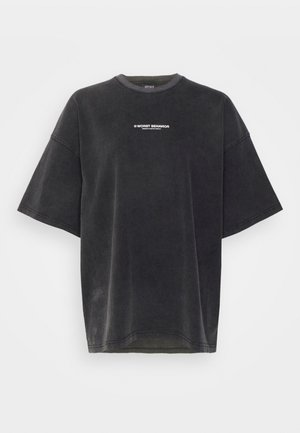 BOLD - Print T-shirt - vintage black