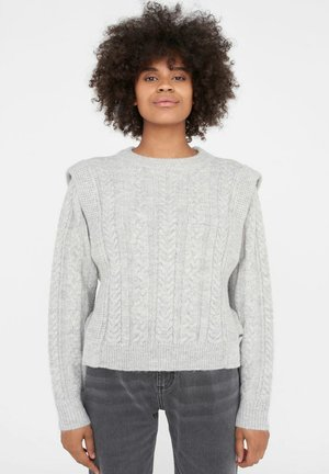 NMEMBER ONECK  - Jumper - light grey melange